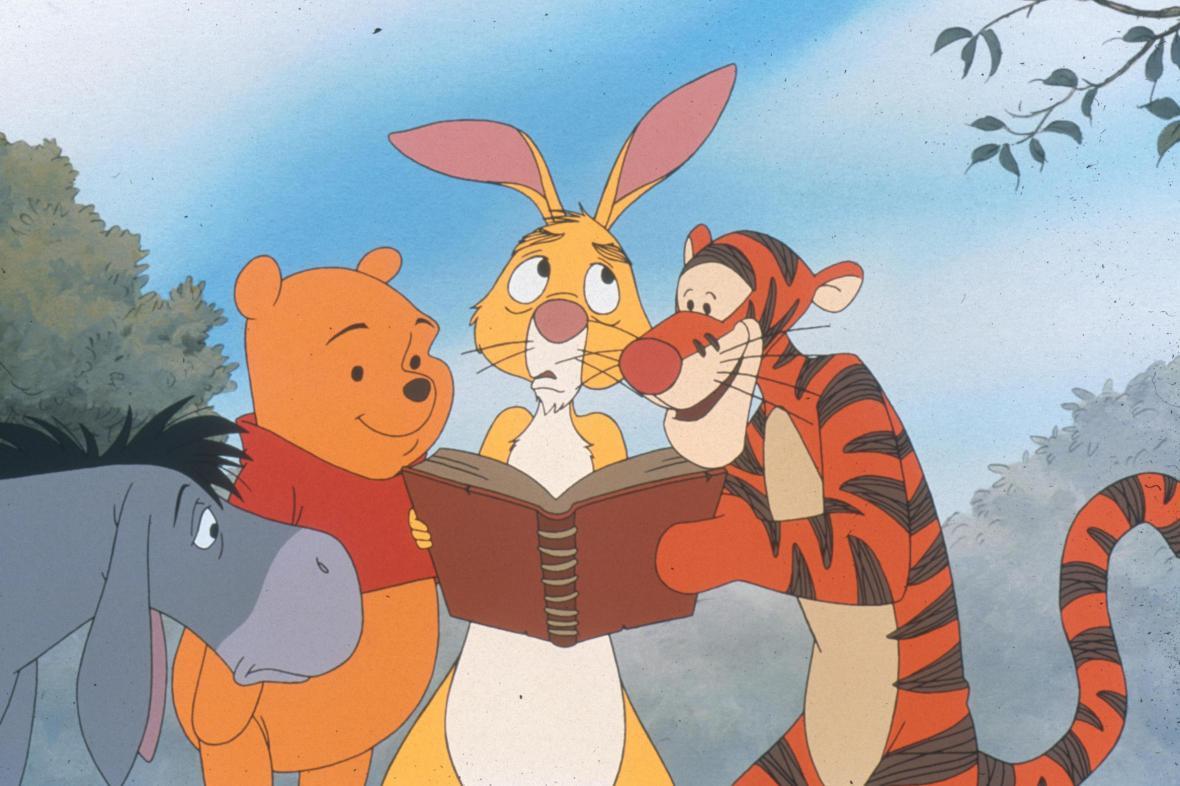 Medvídek Pú podle Walta Disneyho