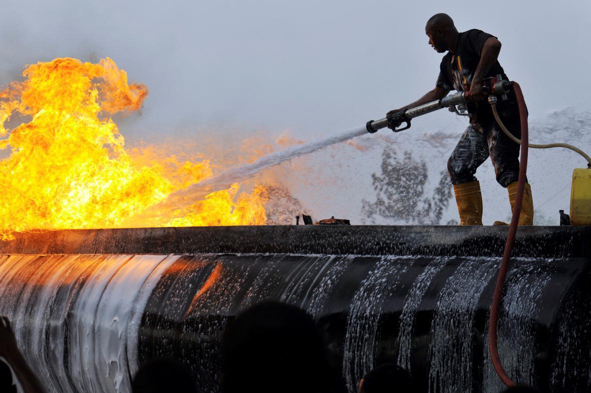 Nigerijský hasič