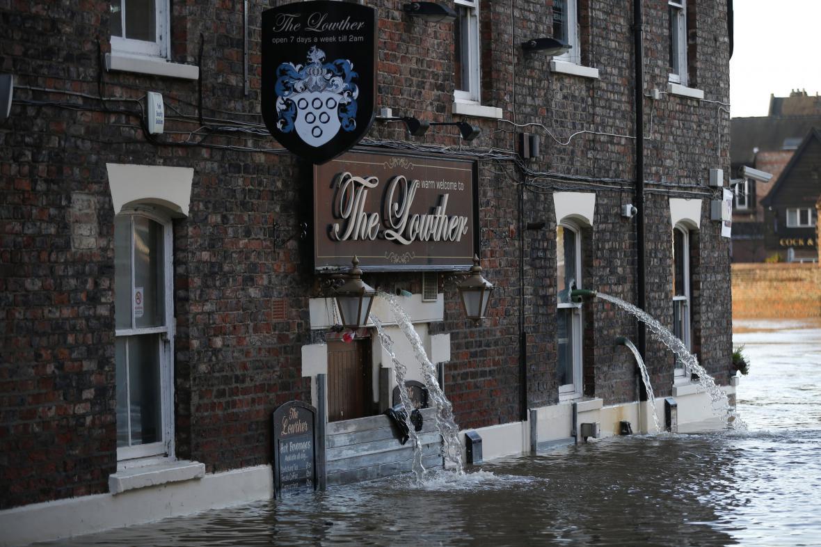 Stoletá voda v Yorku