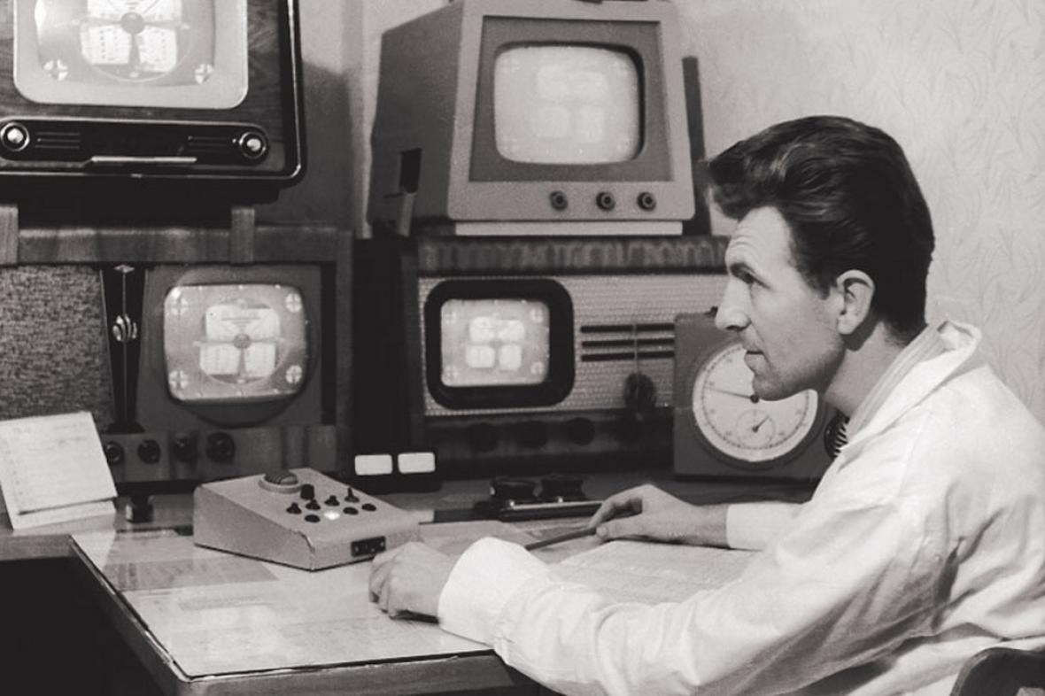 Archivní snímek z vysílání ostravského studia ČT