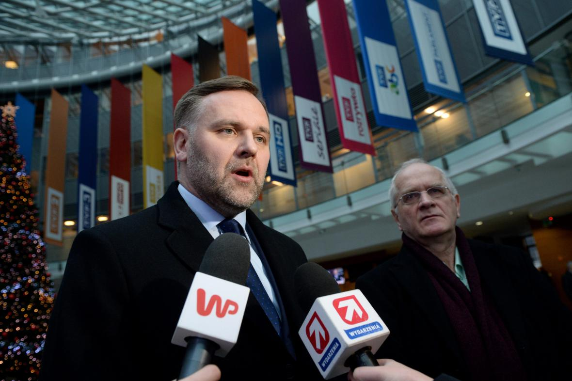 Jacek Kurski je novým ředitelem polské televize