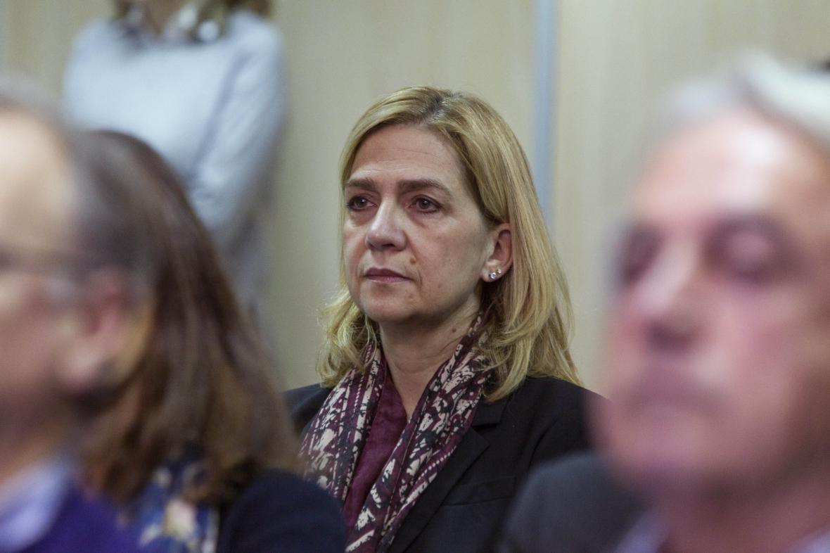 Princezna Cristina před soudem