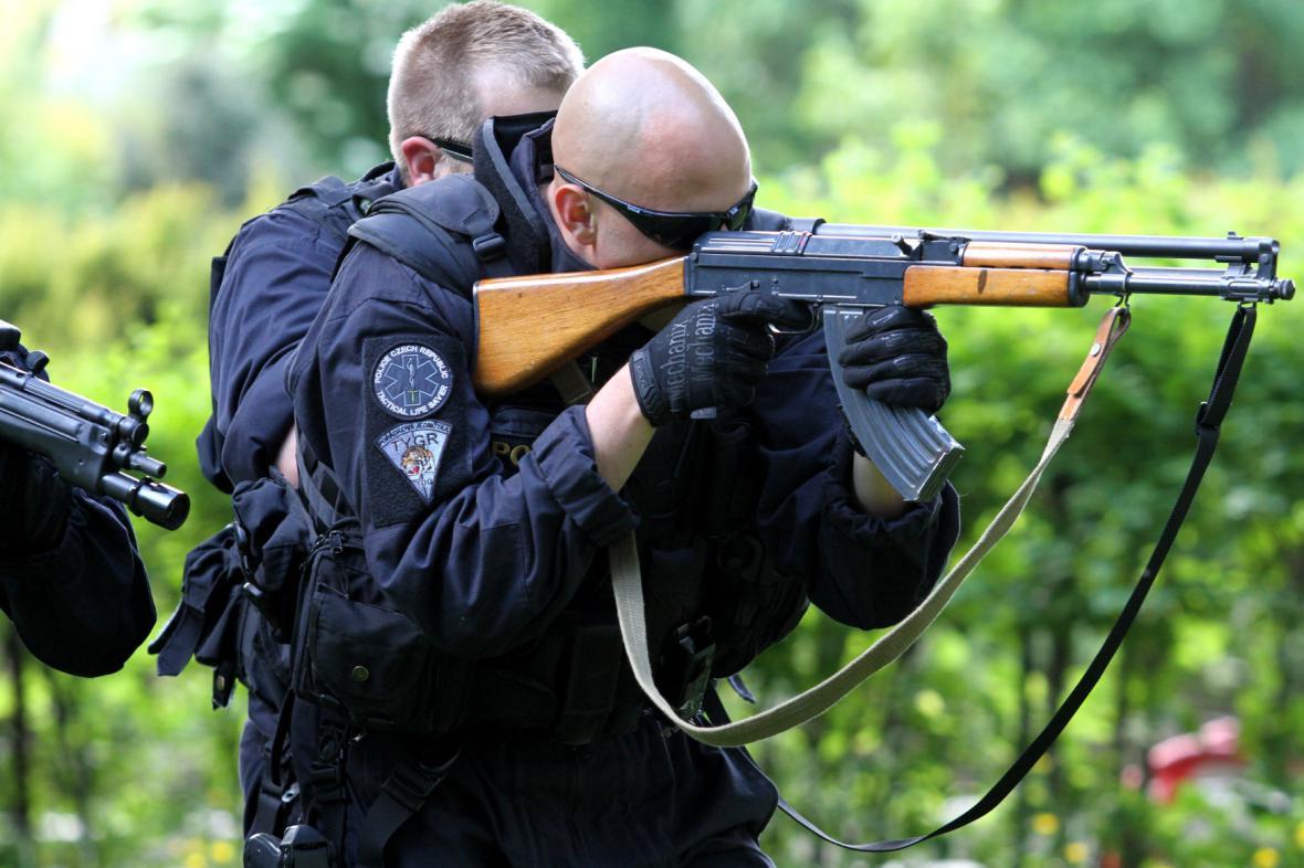 Pořádková jednotka policie
