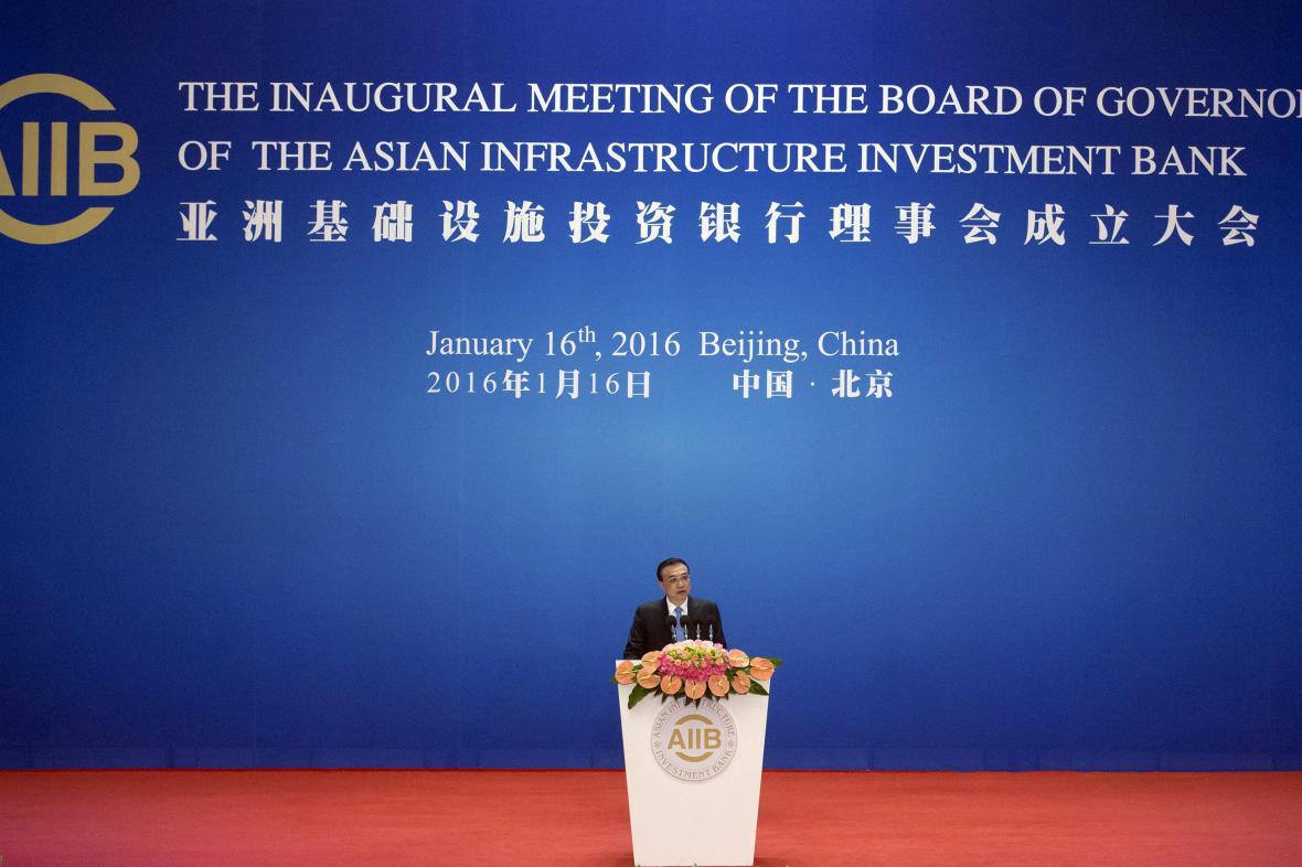 Čína otevřela novou mezinárodní banku AIIB