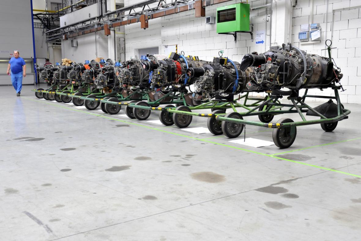 Sklad leteckých motorů GE Aviation