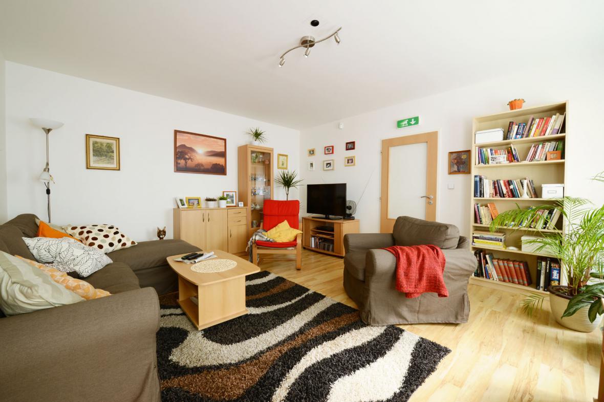 Průměrný český obývací pokoj