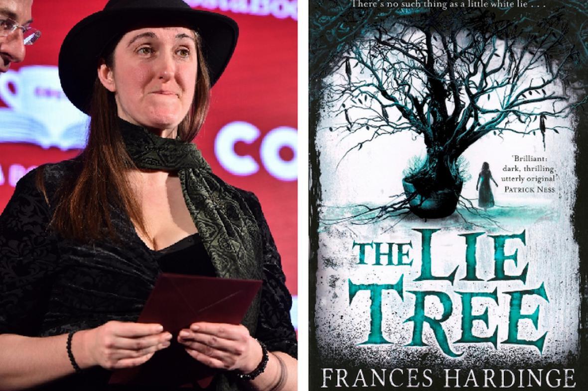 Frances Hardingeová a její kniha The Lie Tree (Strom lži)