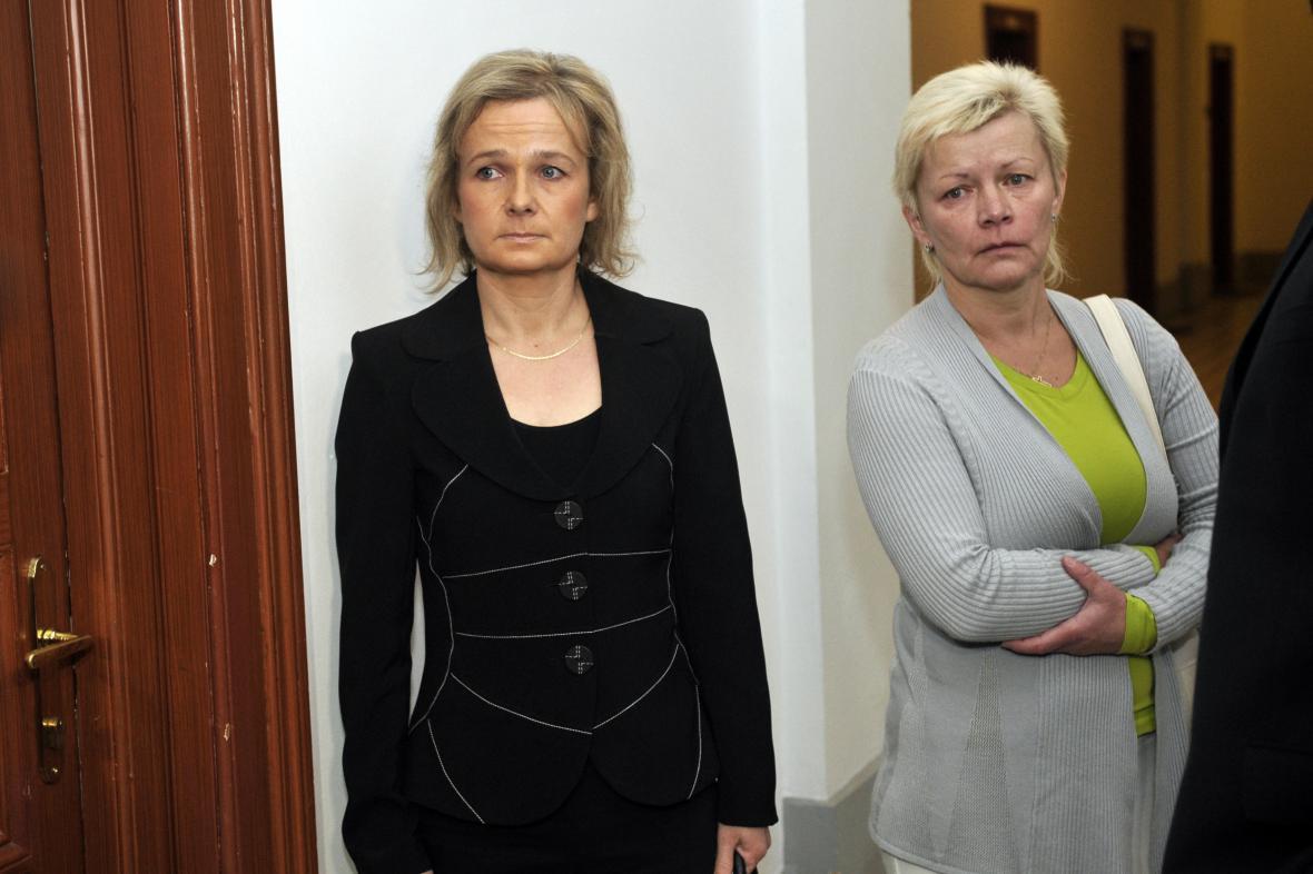 Jana Mikulová a Iveta Škardová (dříve Kadlecová)