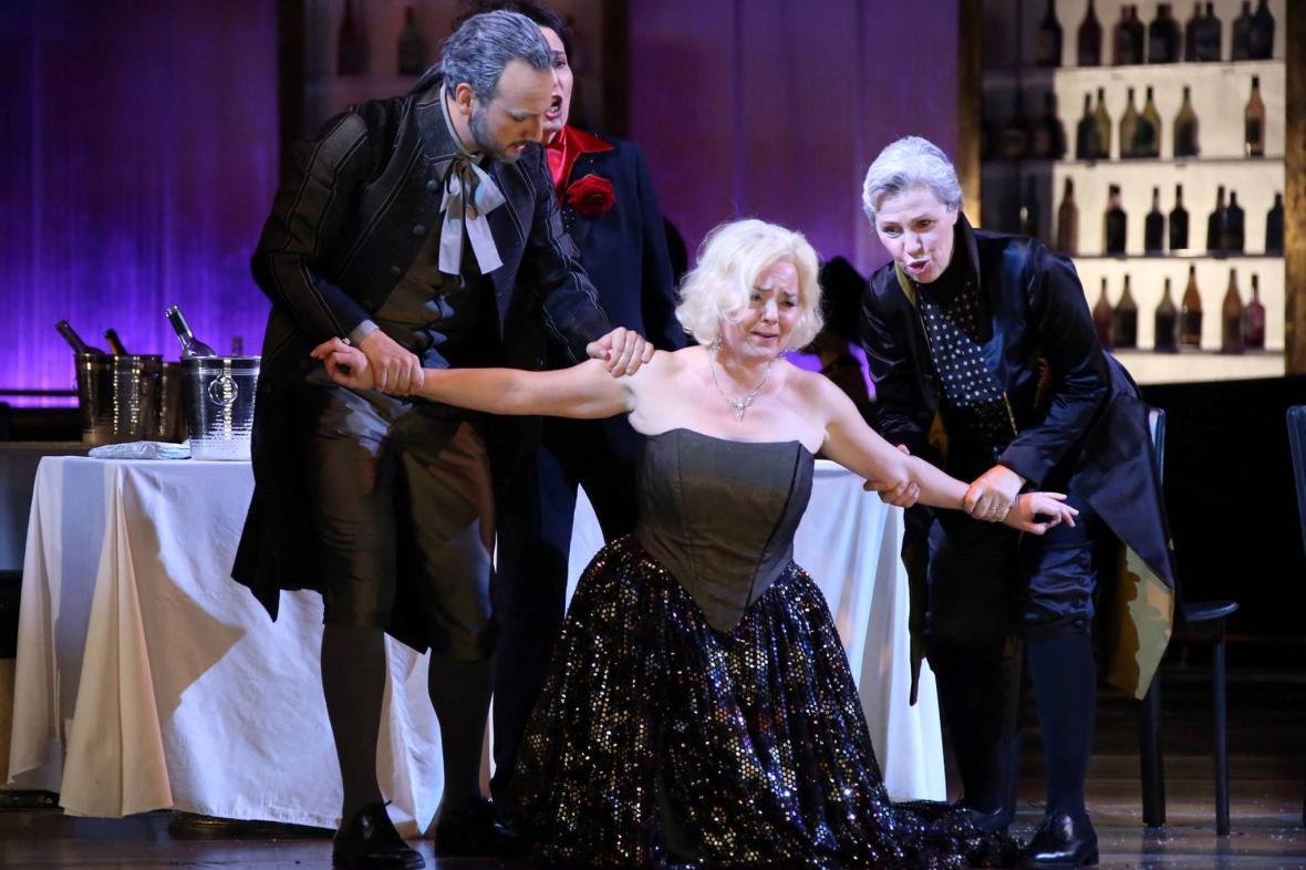 Martina Janková na scéně milánské La Scaly