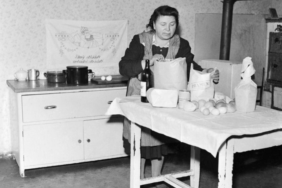 Donášková služba pro pracující ženy (50. léta)