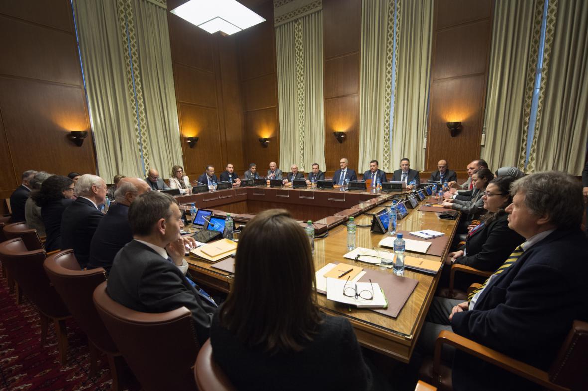 Ženevská jednání o míru v Sýrii