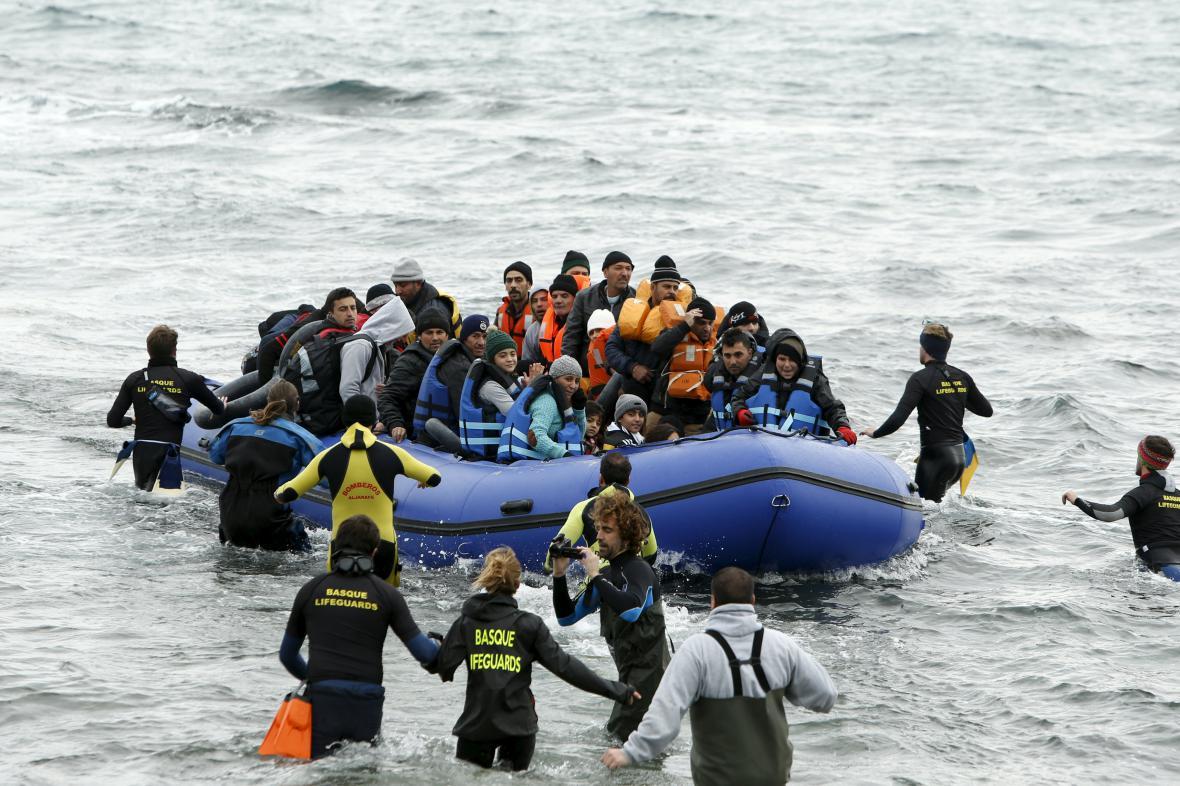 Zachránění uprchlíci