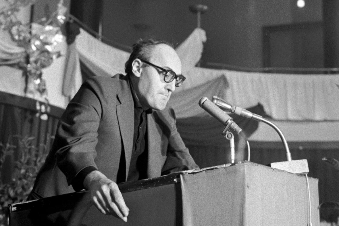 Ladislav Helge v roce 1968