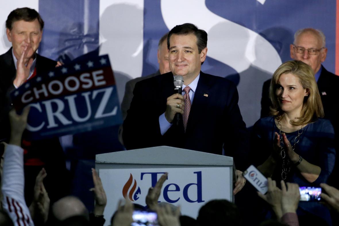 Texaský senátor Ted Cruz