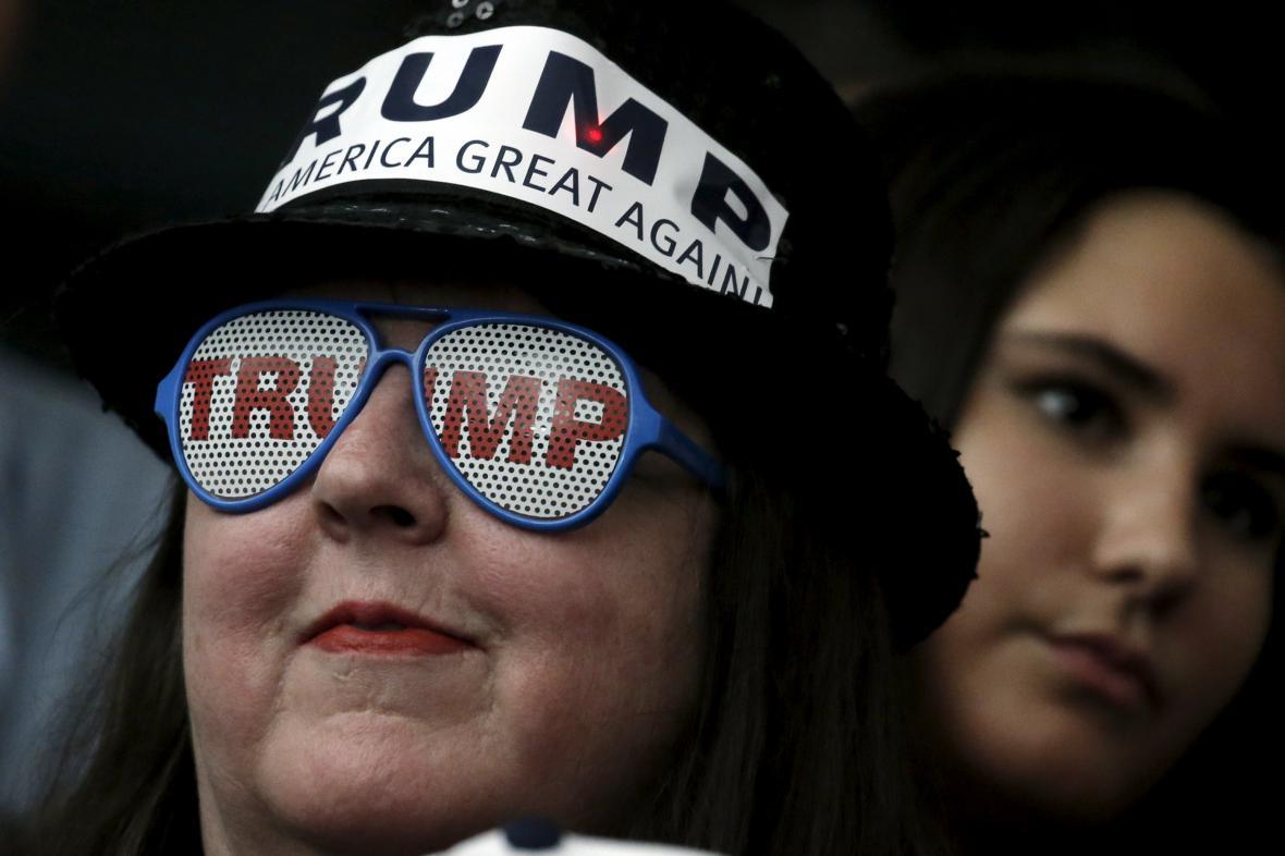 Příznivci Donalda Trumpa