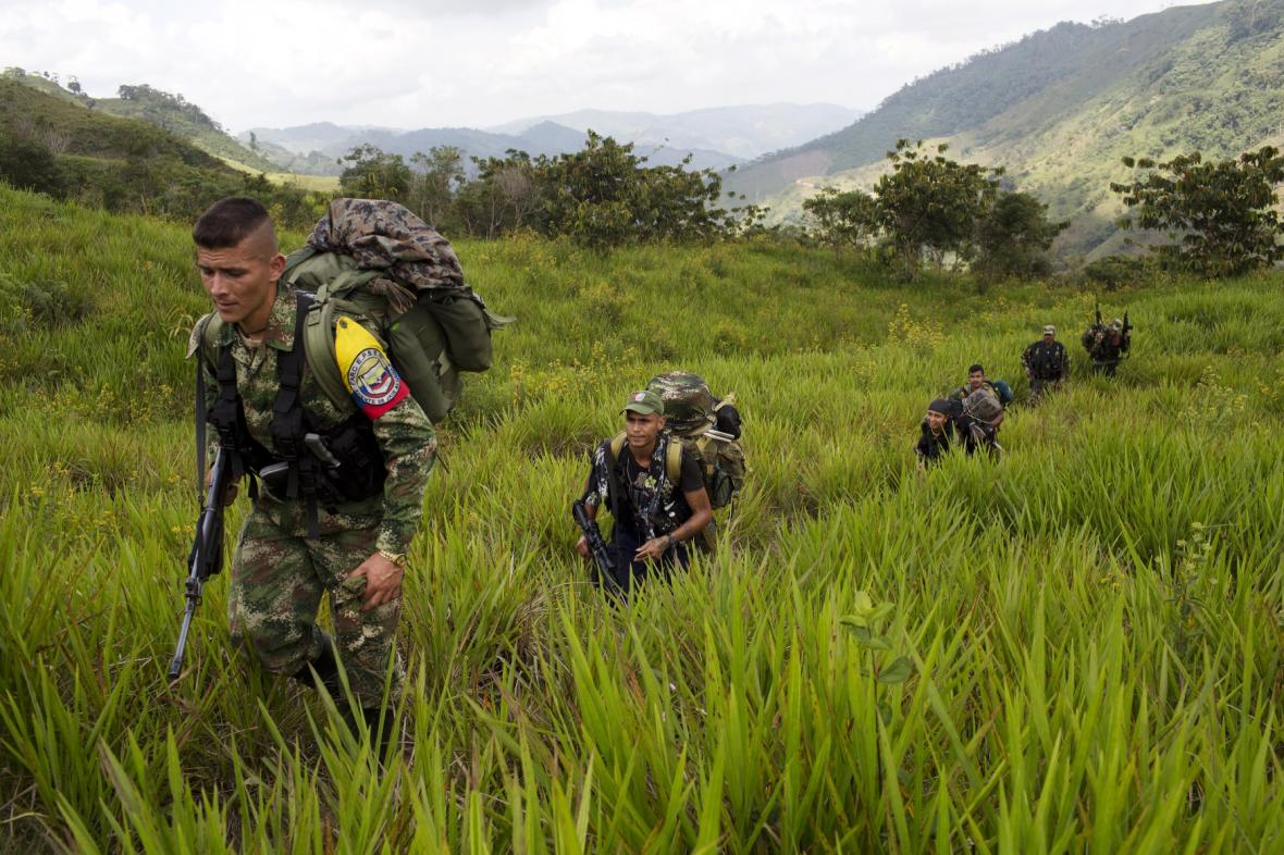 Rebelové z FARC