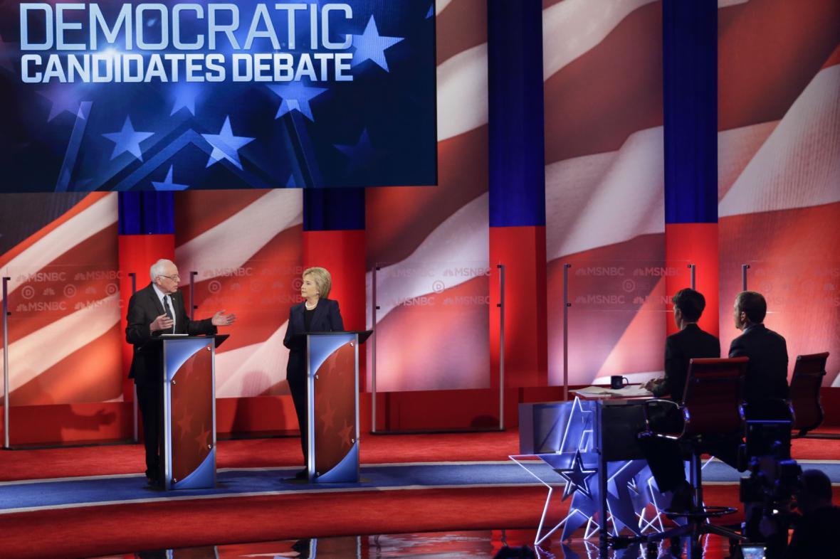 Debata demokratů na MSNBC