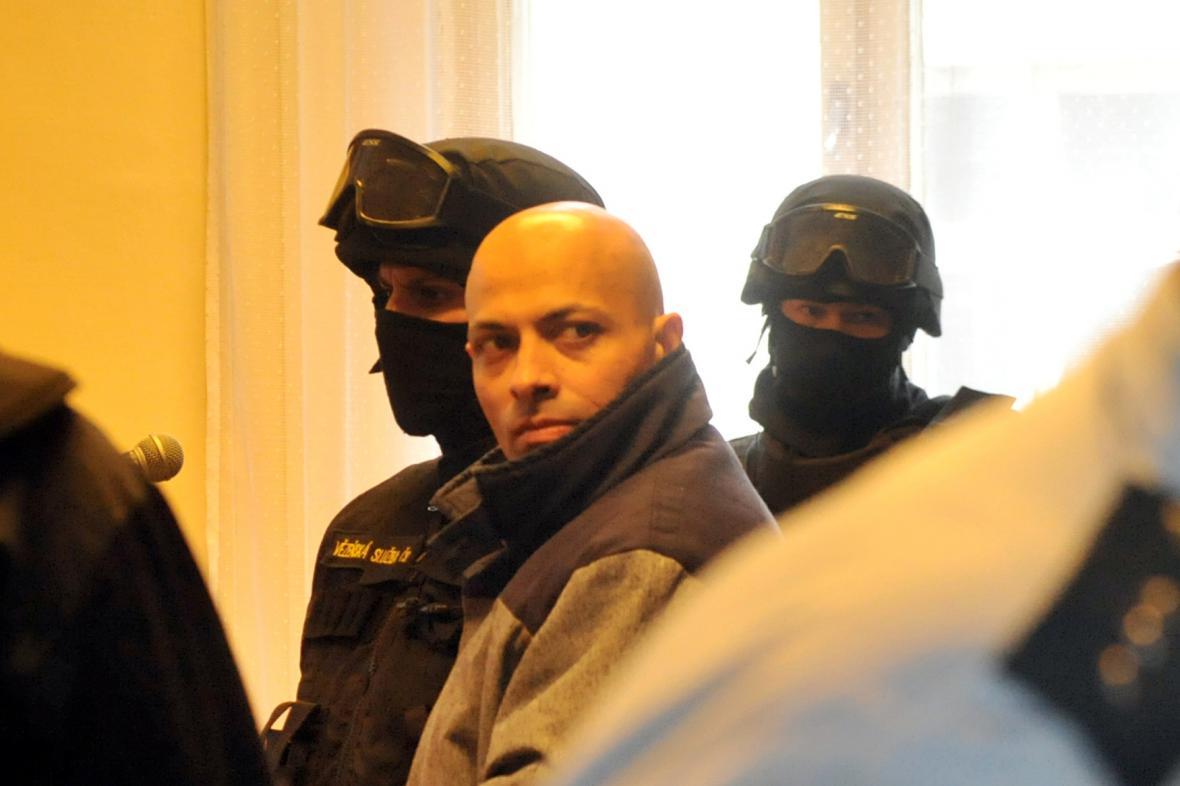 Obžalovaný Miroslav Baláž