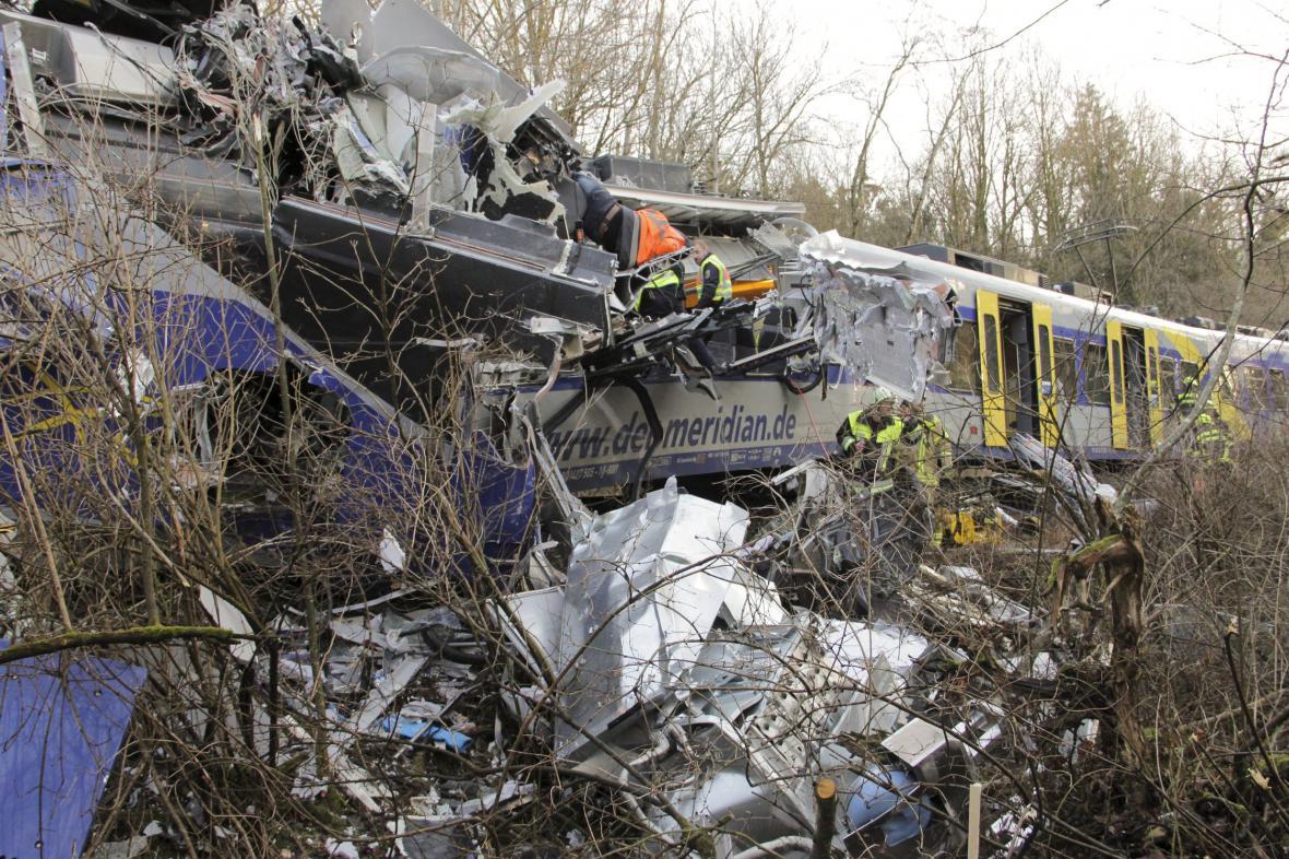 Srážka vlaků u Bad Aiblingu
