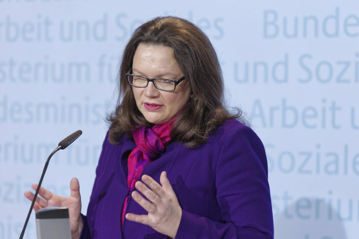 Andrea Nahlesová