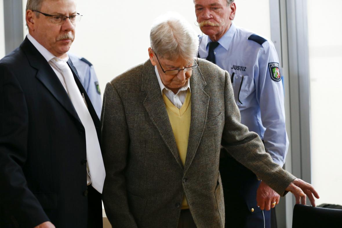 Reinhold Hanning u soudu