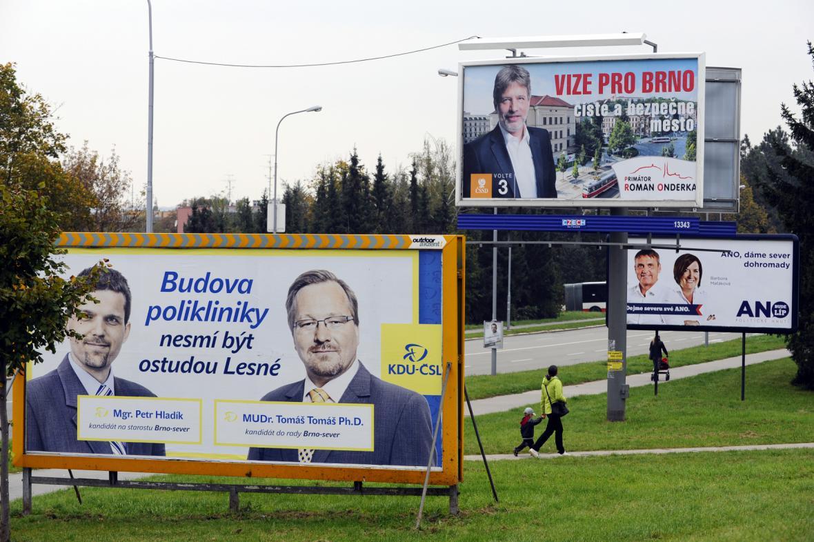 Předvolební kampaň - ilustrační foto