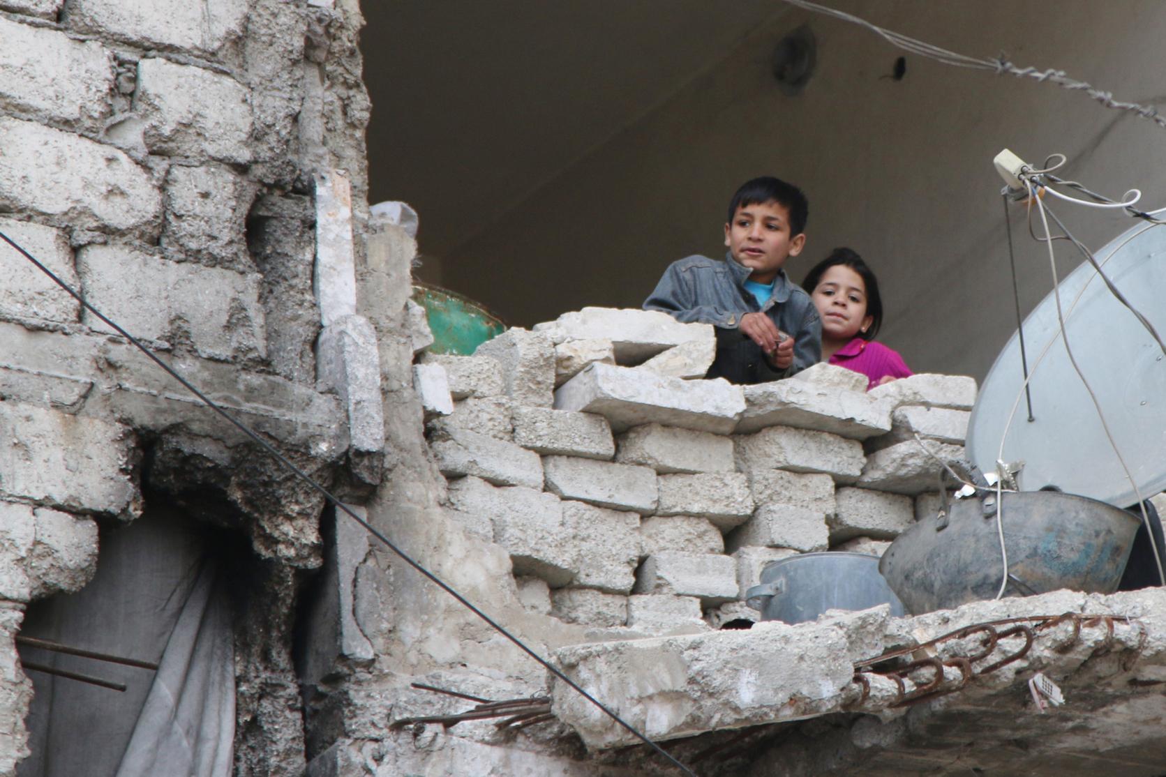 Město Aleppo