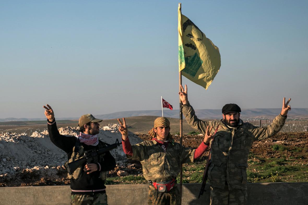 Kurdské milice v Sýrii