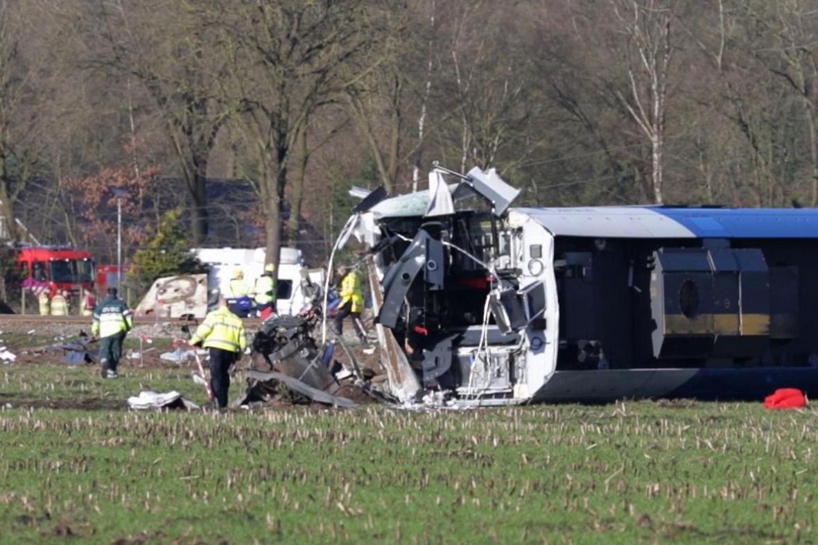 Vlakové neštěstí v Nizozemsku