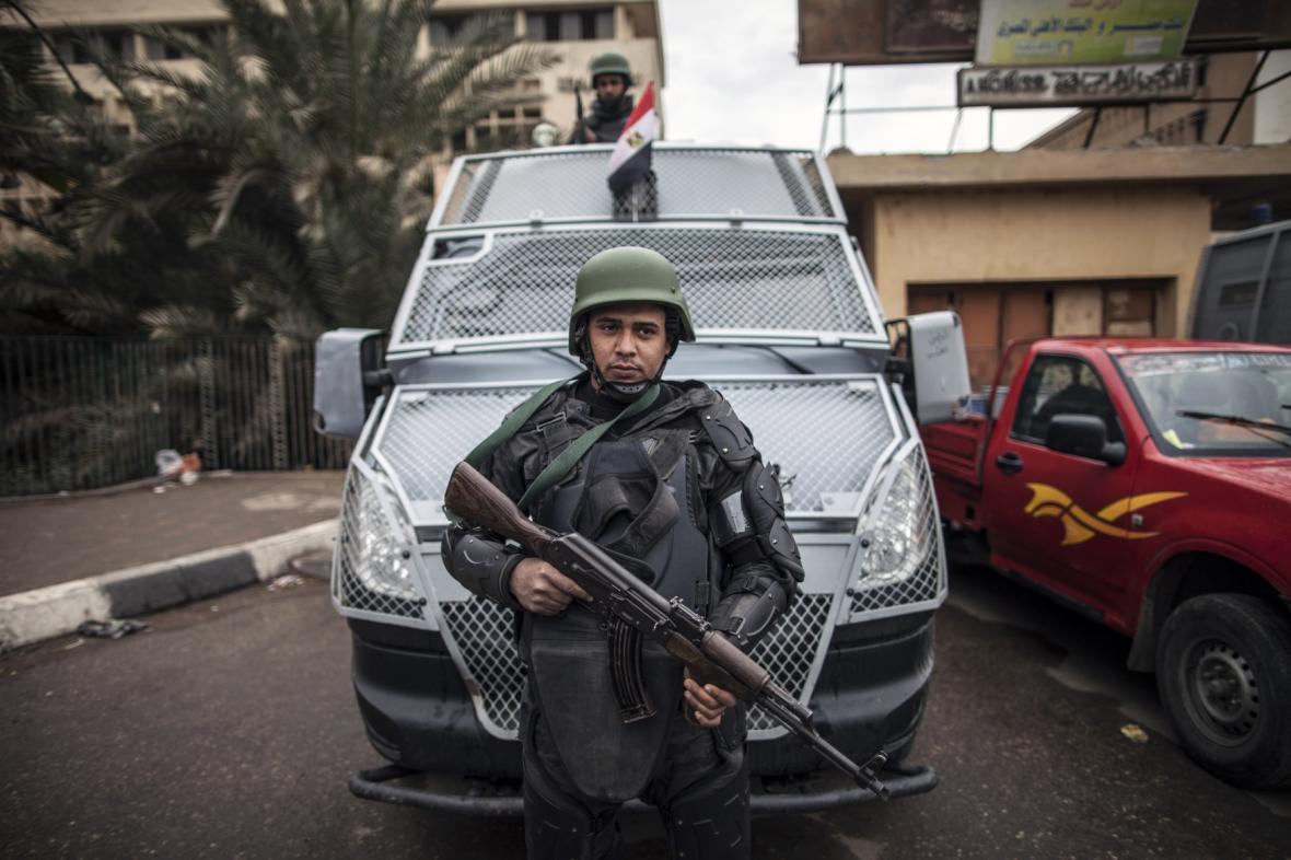 Policie v Egyptě