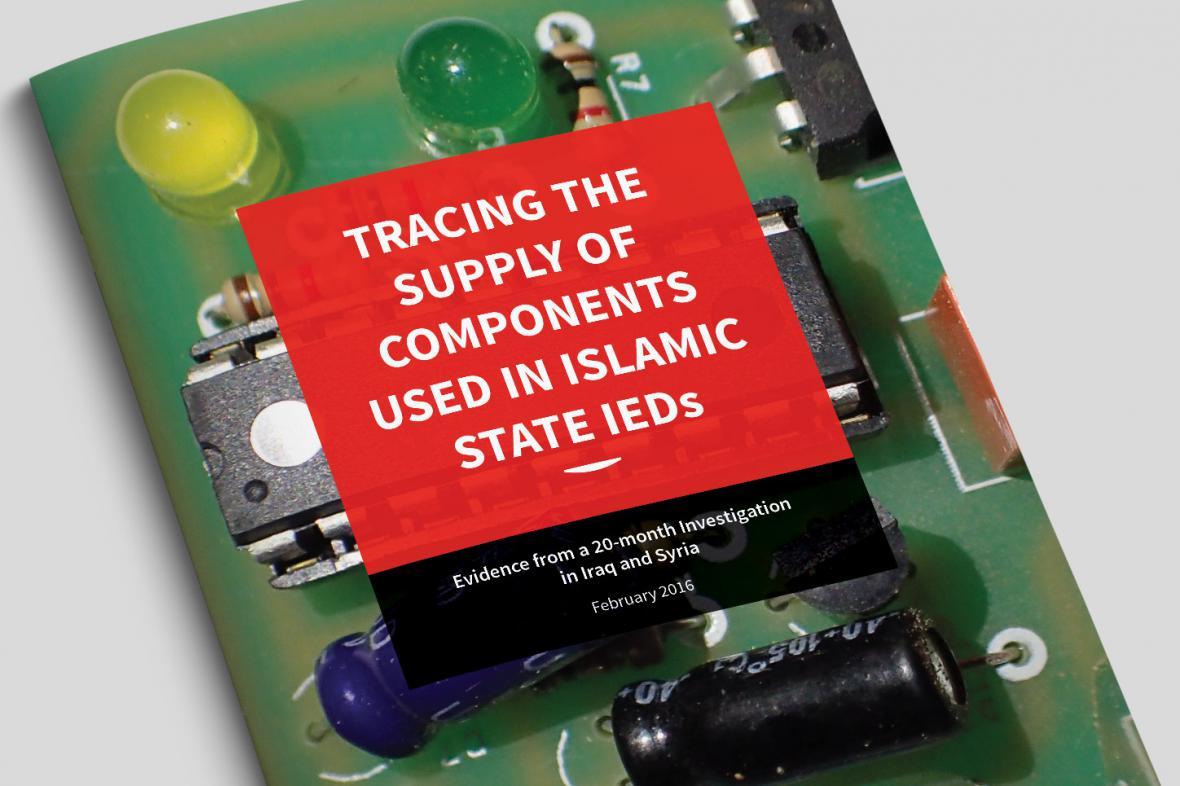 Pátrání po zdrojích výbušnin v rukou IS