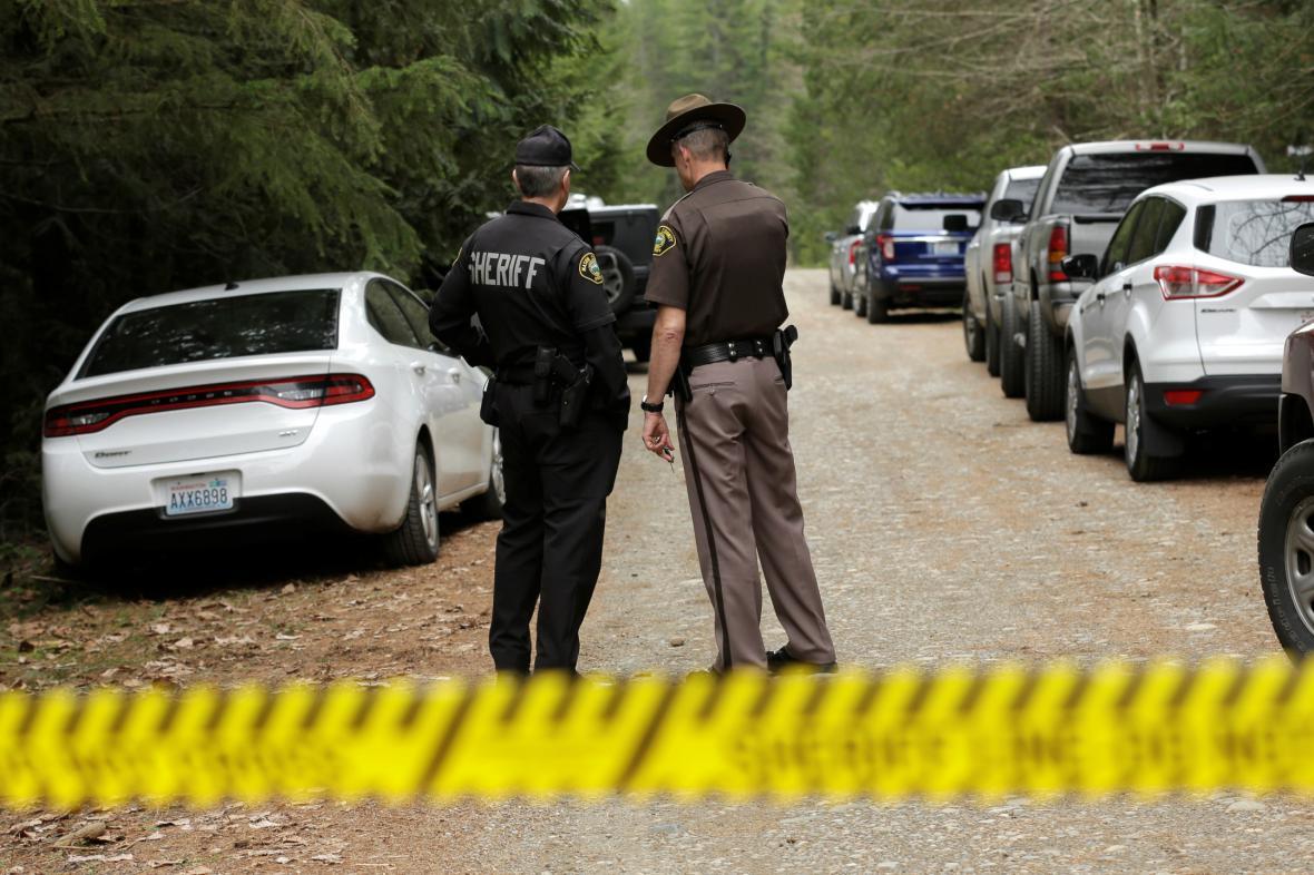 Vyšetřování střelby v Belfair ve Washingtonu