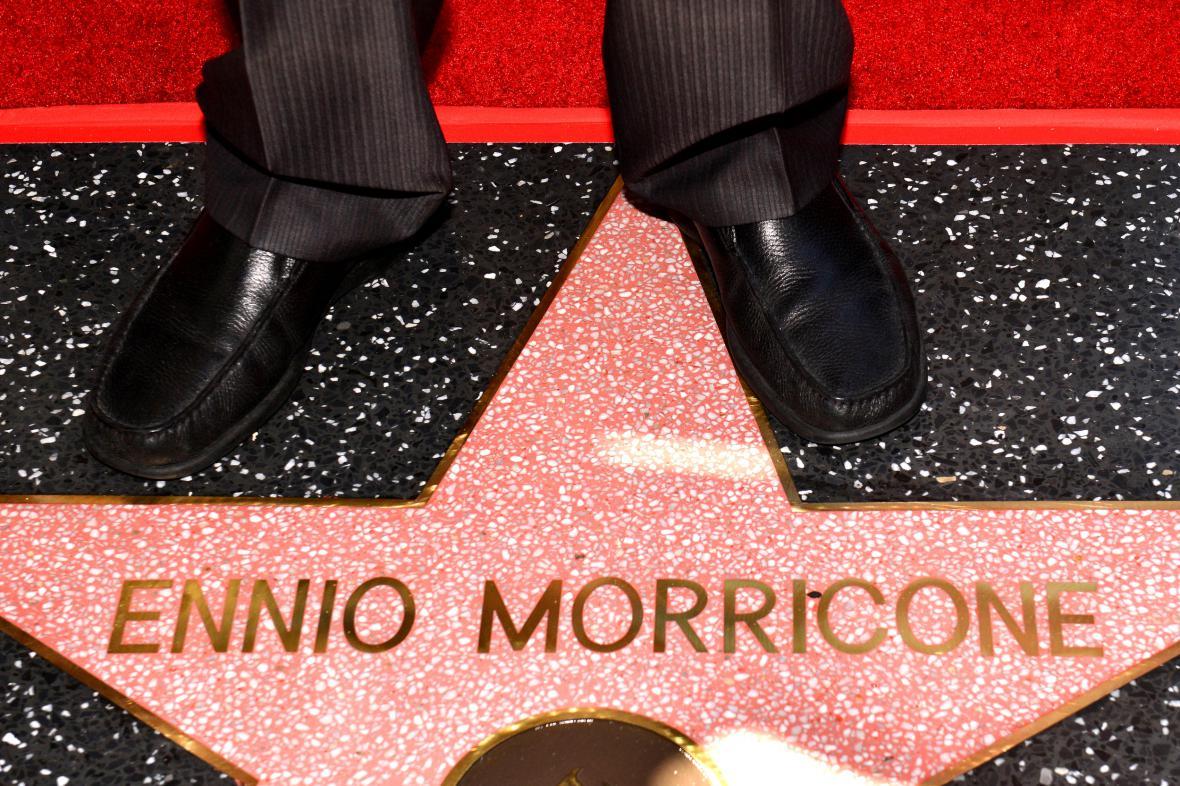 Chodník slávy má novou hvězdu - Ennia Morriconeho