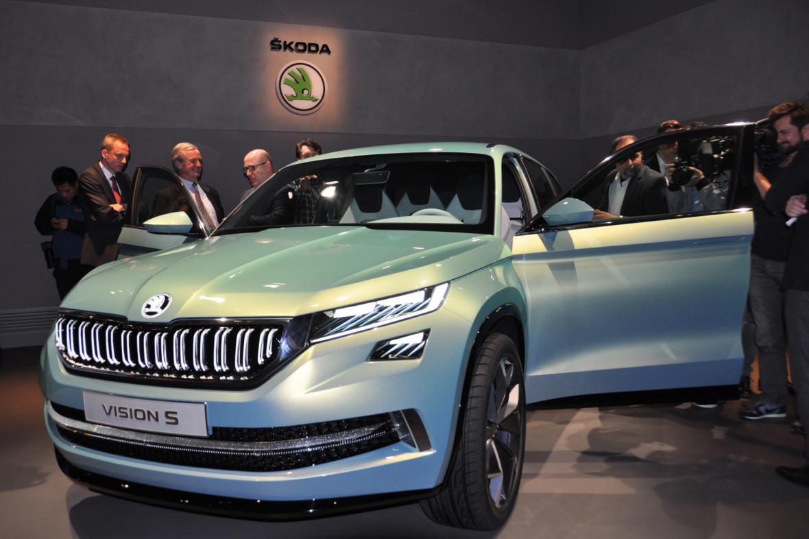 Škoda koncept SUV VisionS