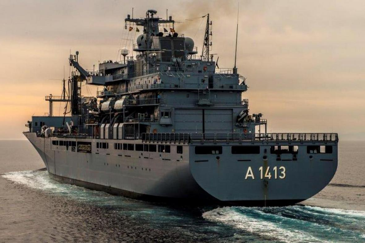 Lodě NATO hlídkují v Egejském moři