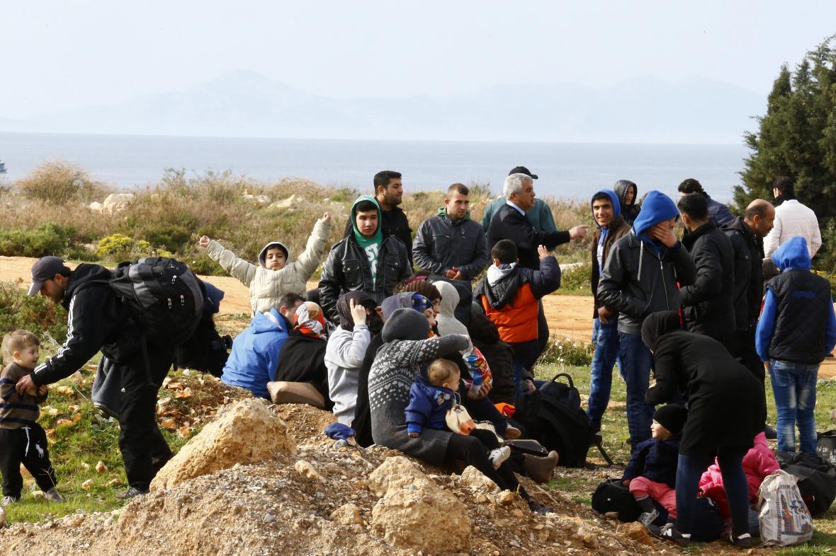Uprchlíci zadržení Turky