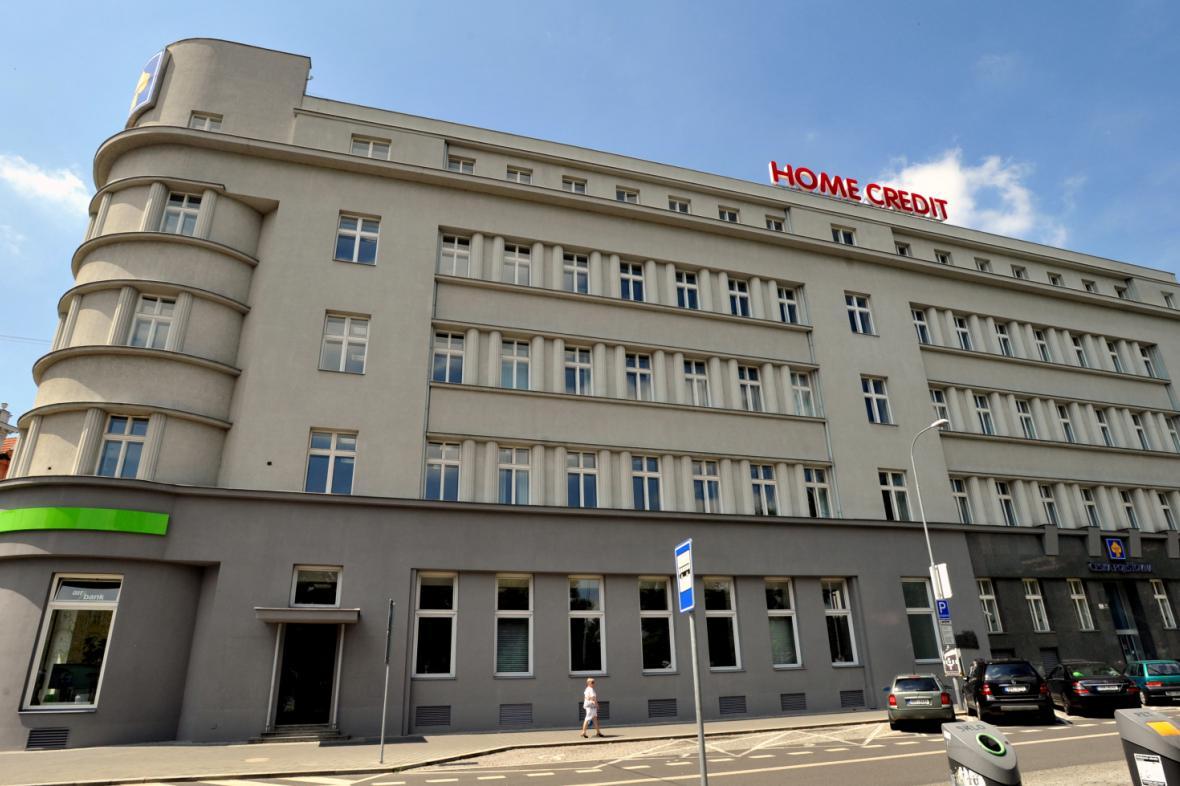 Budova Home Credit v Brně