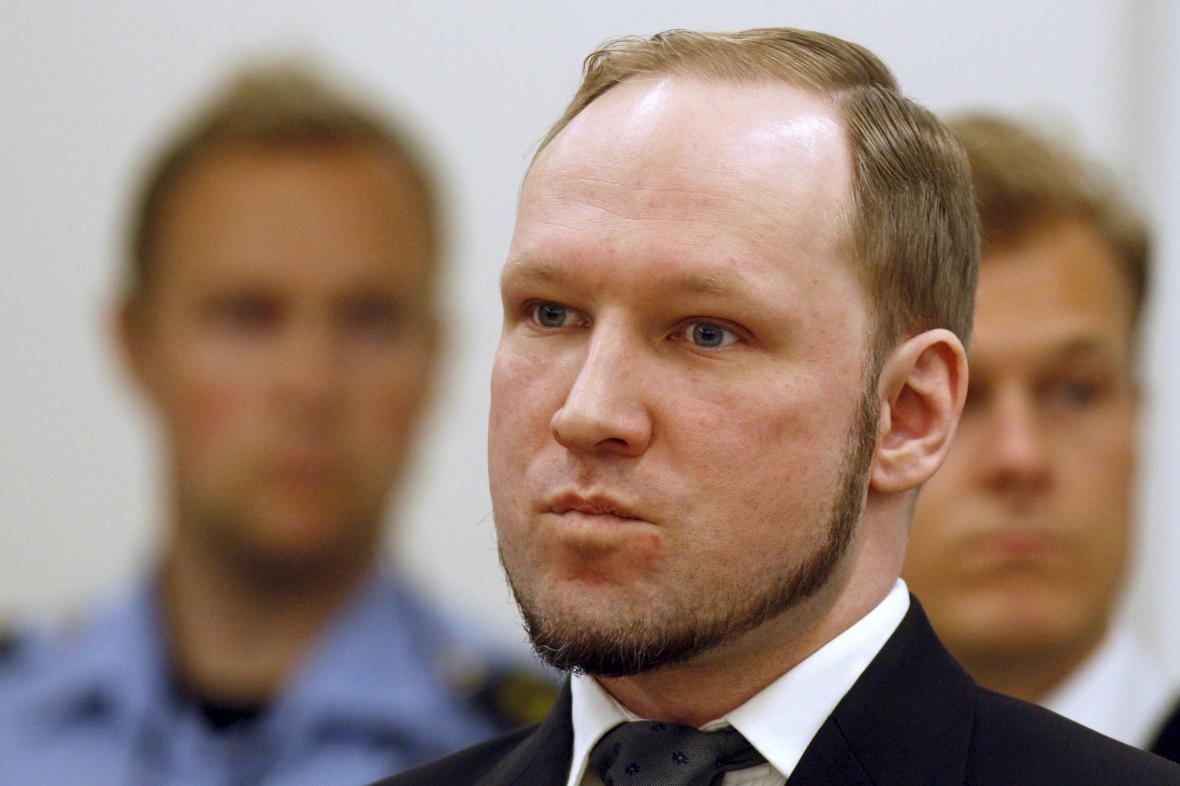 Masový vrah Anders Breivik