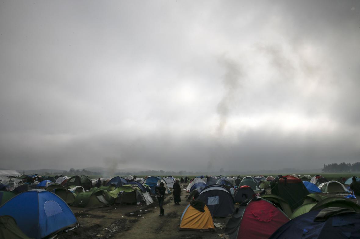 Uprchlický tábor Idomeni