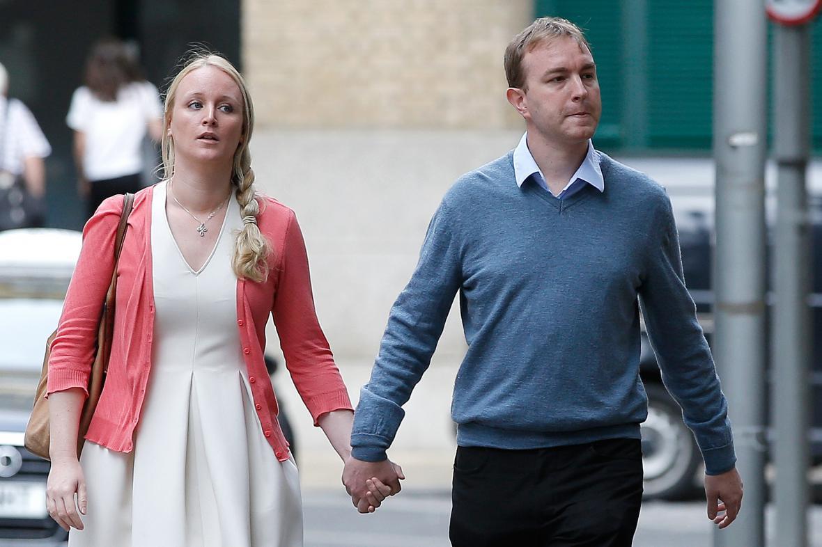 Tom Hayes a jeho manželka Sarah