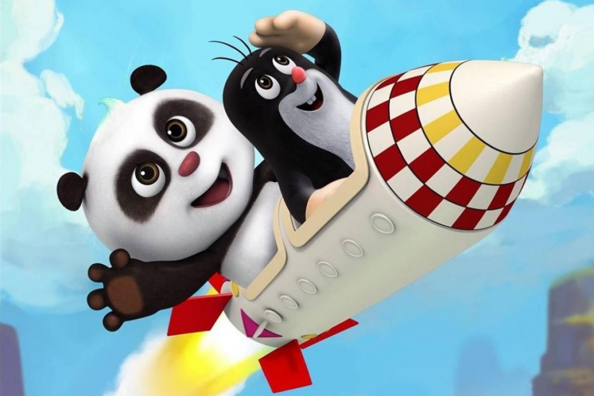 Krtek a panda