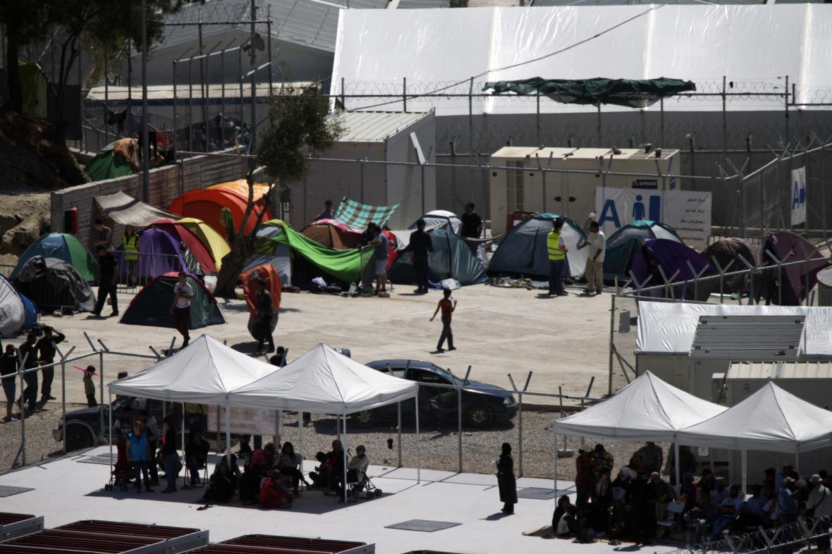 Uprchlický tábor Moria