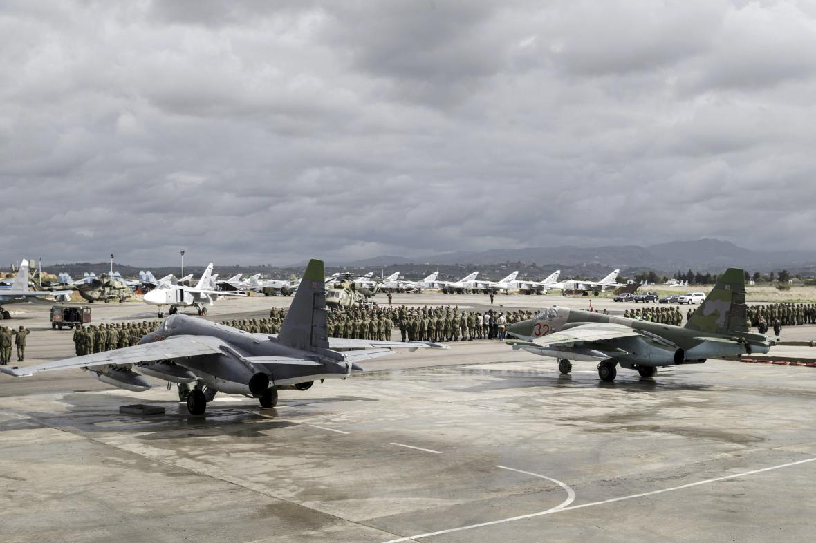 Vojenská základna v Sýrii