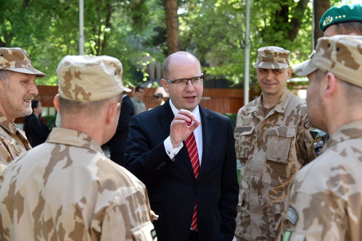 Bohuslav Sobotka v Afghánistánu