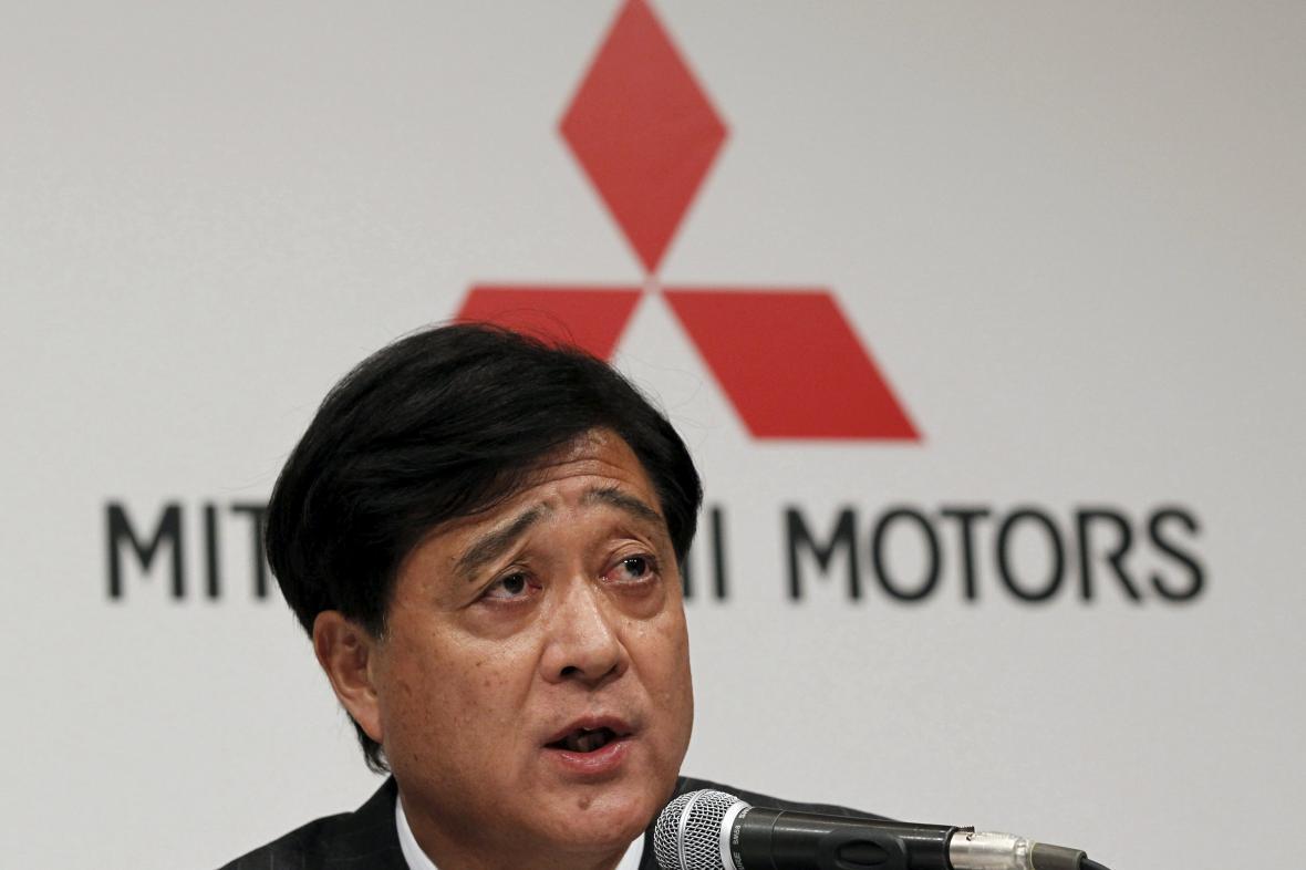 Generální ředitel automobilky Mitsubishi Osamu Masuko