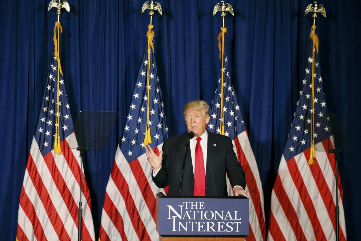 Miliardář Donald Trump
