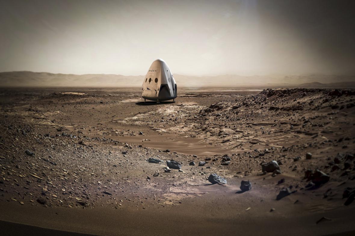 Dragon na Marsu