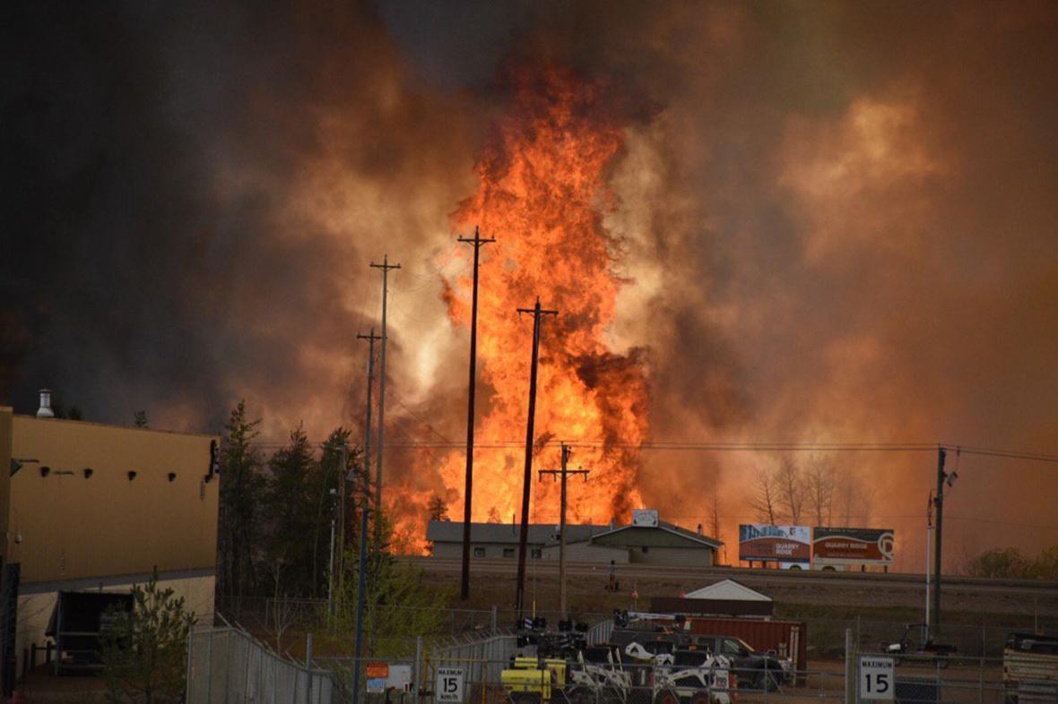 Požár ve Fort McMurray