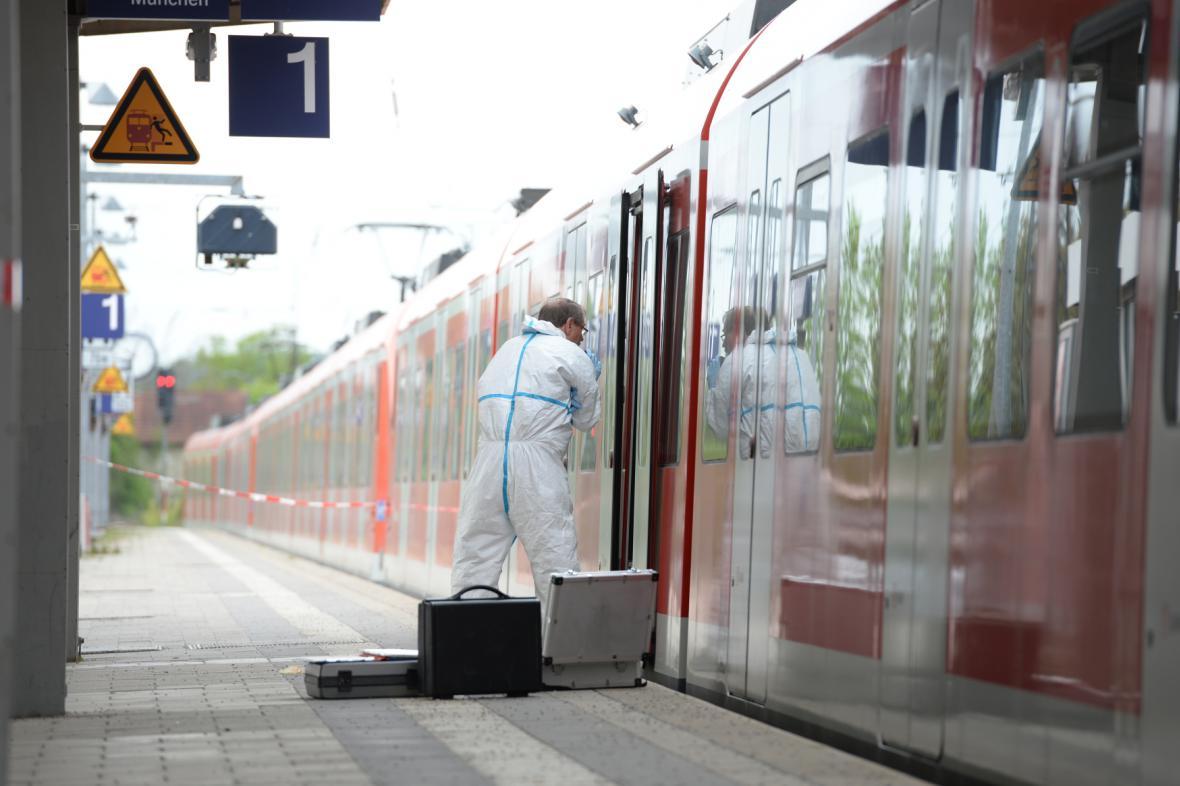 Útok na nádraží v Garafingu