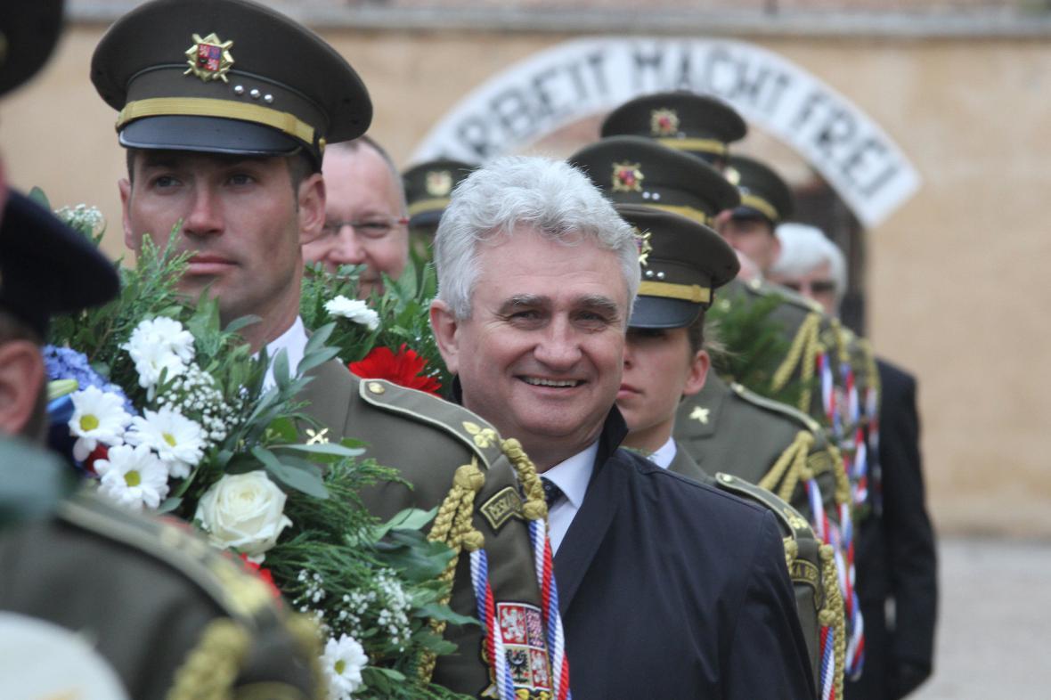 Milan Štěch na Terezínské tryzně